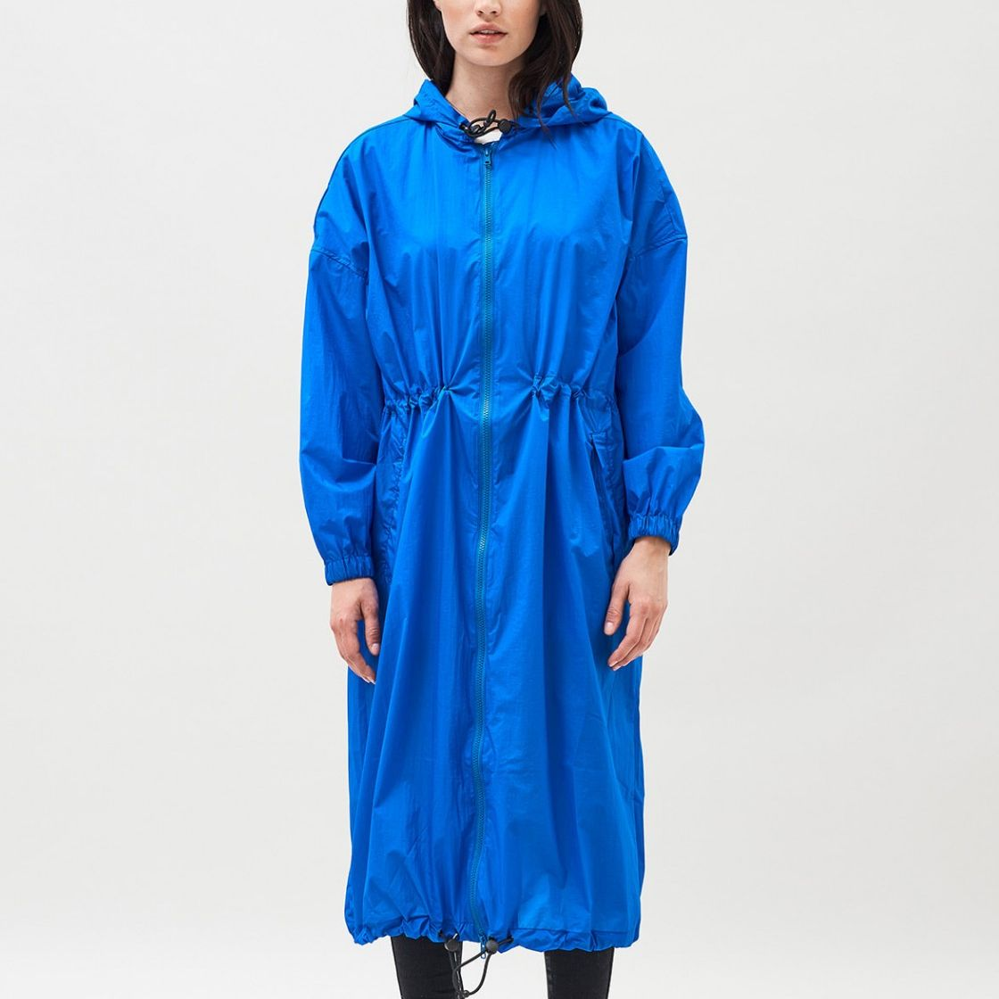 PARKA DR.DENIM PALOMA ELECTRIC BLUE