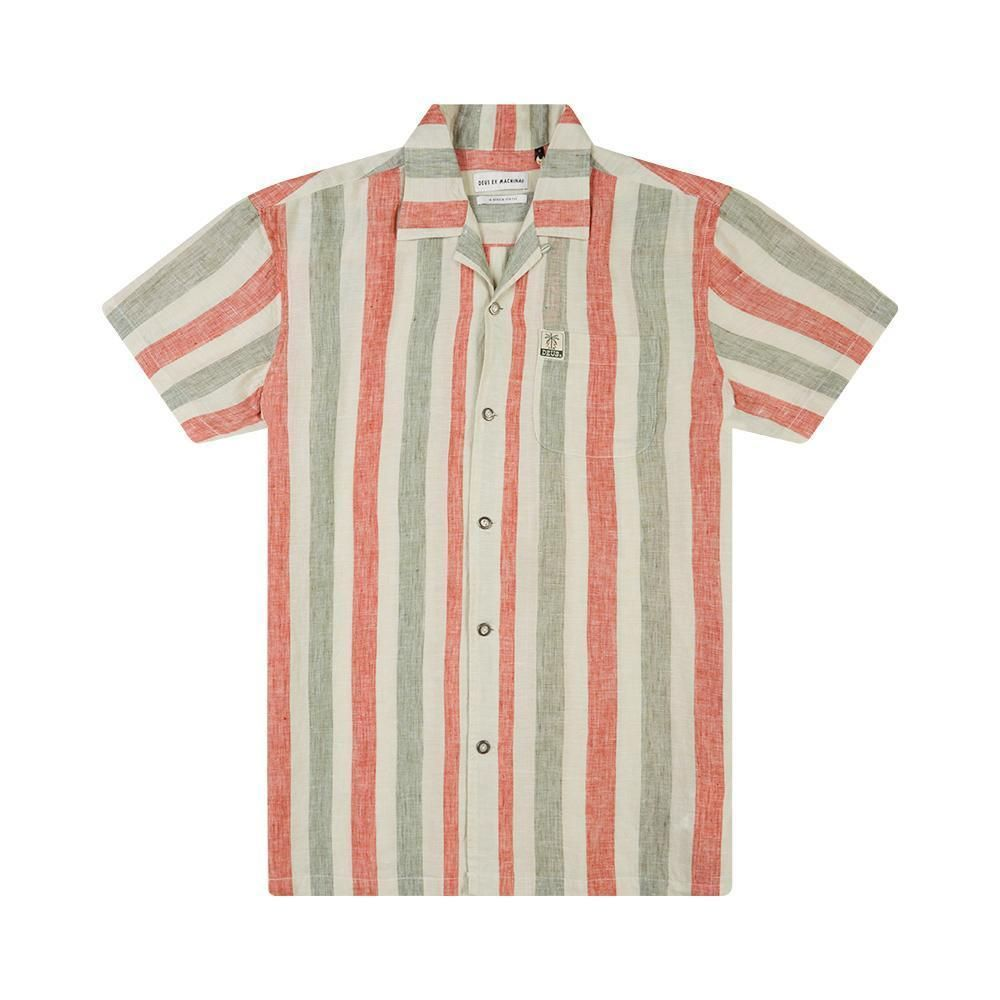 CAMISA DEUS EX MACHINA JOSE STRIPES MULTICOLOR