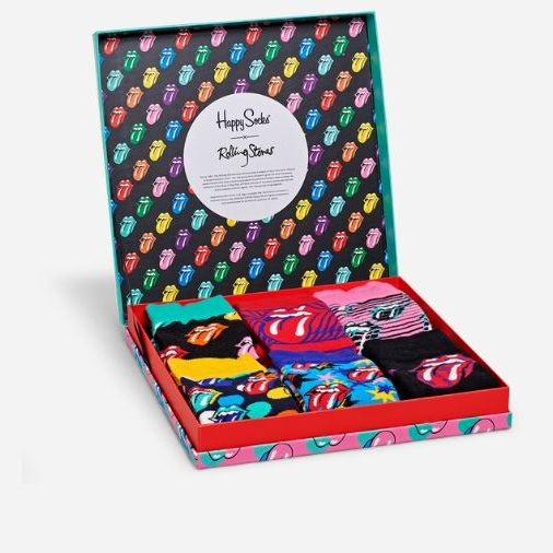 ROLLING STONES COLLECTOR BOX SET HAPPY SOCKS