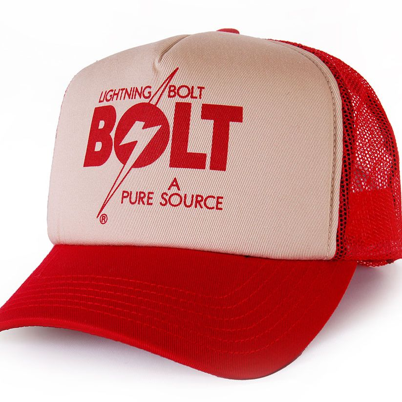 GORRA BOLT A PURE SOURCE RED