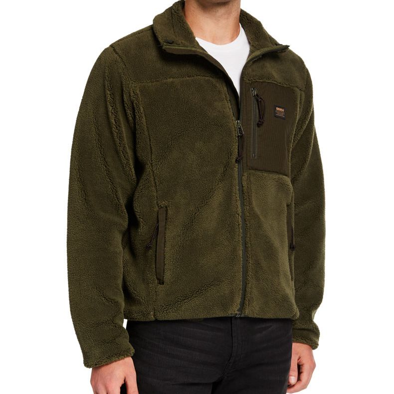 POLAR DEUS EX MACHINA FLETCHER FLEECE FOREST GREEN