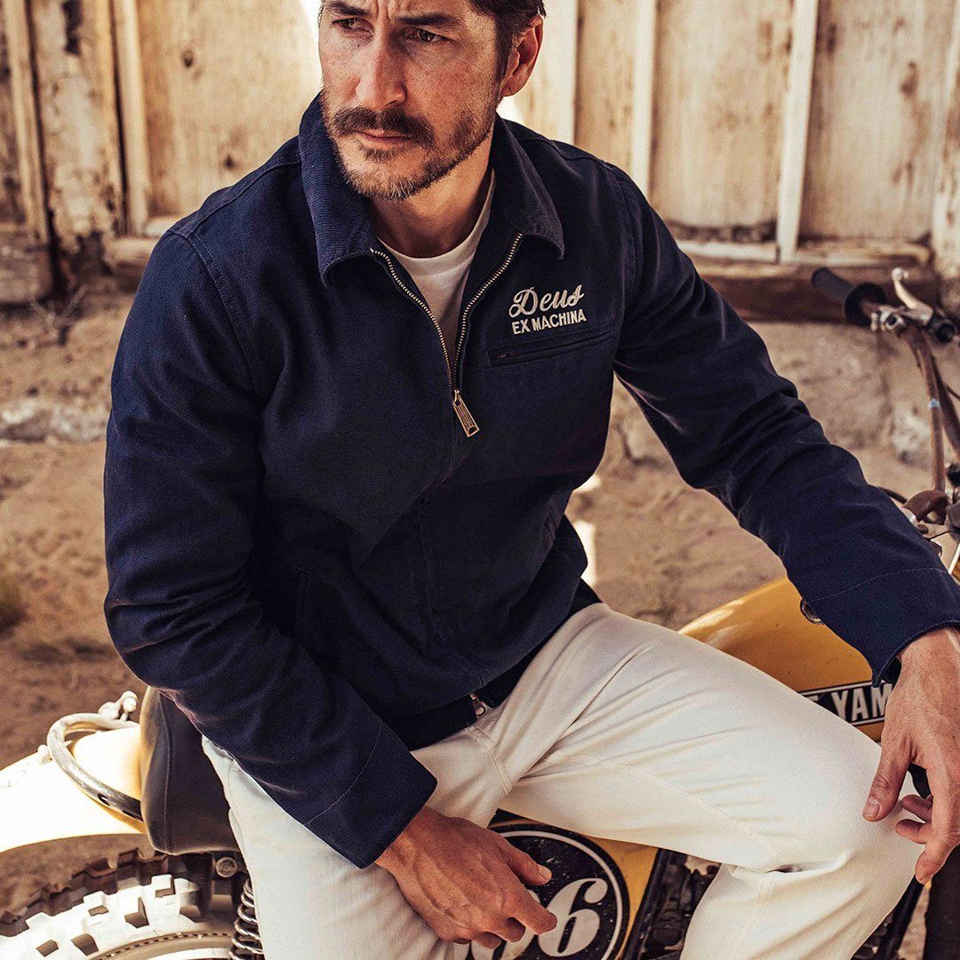 CHAQUETA DEUS EX MACHINA WORKWEAR - NAVY