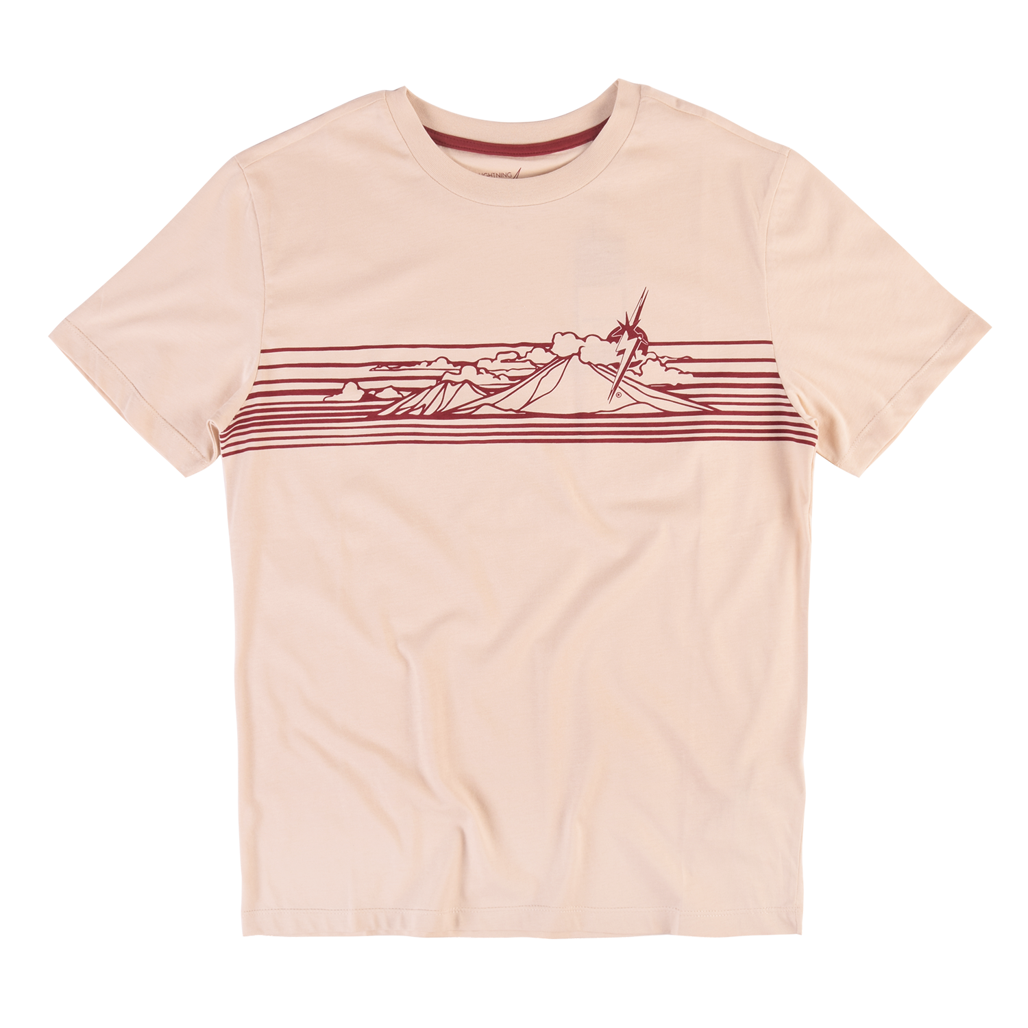 CAMISETA LIGHTNING BOLT MOUNTAIN TEE FOG