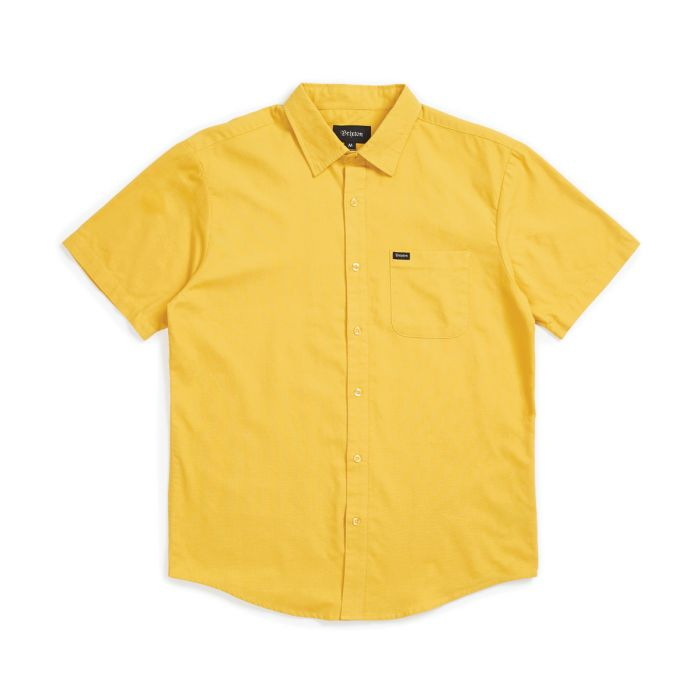 CAMISA BRIXTON CHARTER SUNSET YELLOW