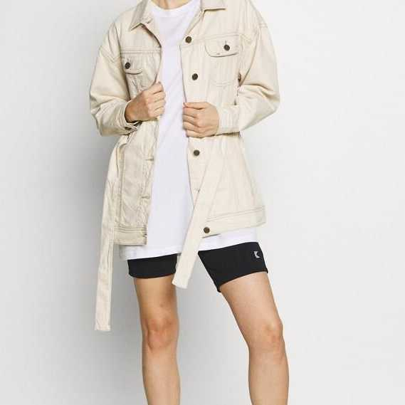 CAZADORA LEE BELTED RIDER JACKET ECO RINSE