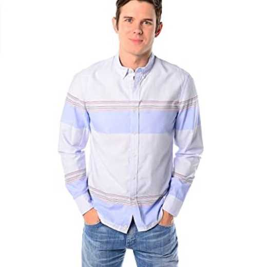 CAMISA PENFIELD STAFORD STRIPE BLUE