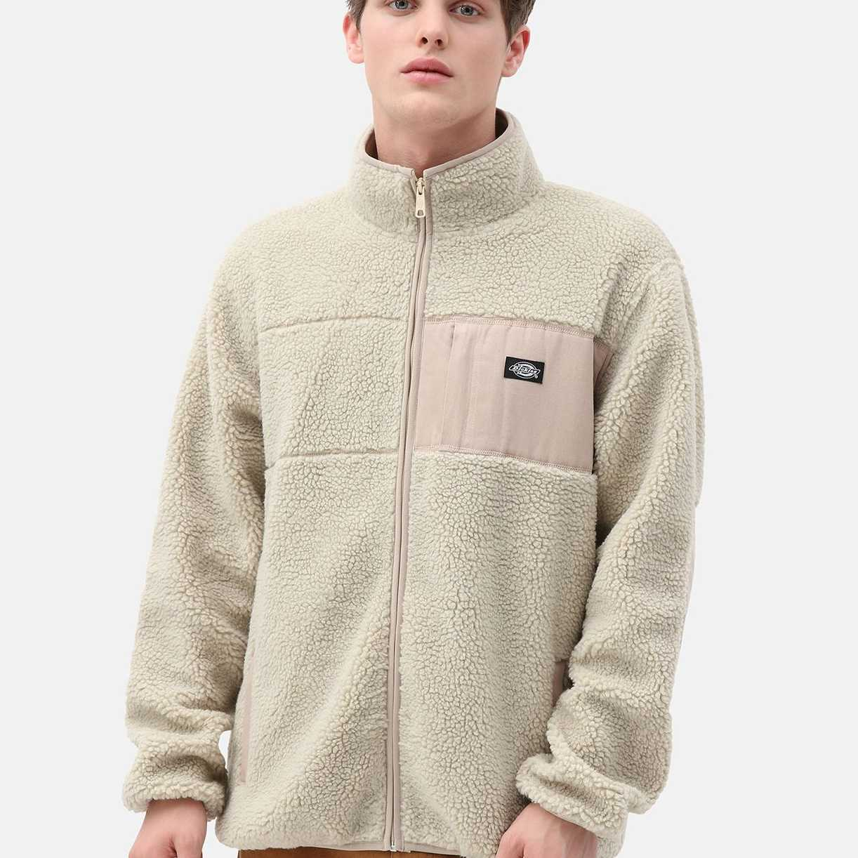 CHAQUETA DICKIES RED CHUTE SHERPA LIGHT TAUPE