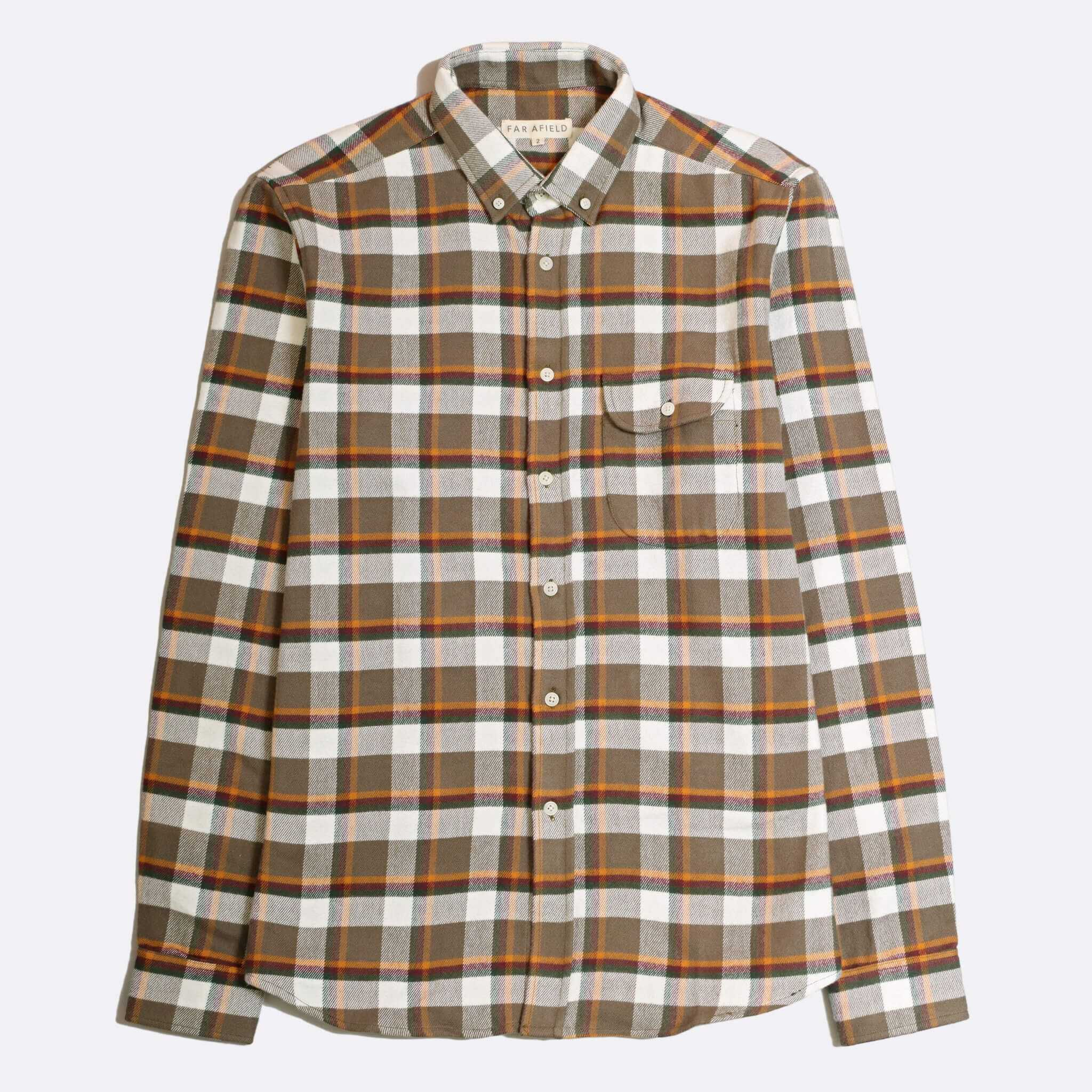 CAMISA FRANELA FAR AFIELD LARRY LONG SLEEVE