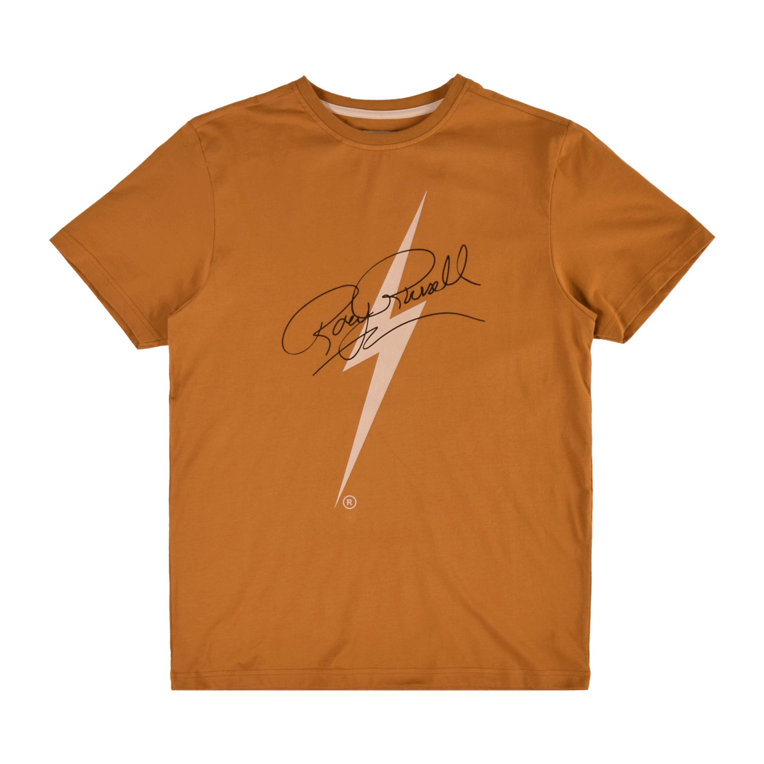 CAMISETA BOLT RORY SIGNATURE GOLDEN BROWN