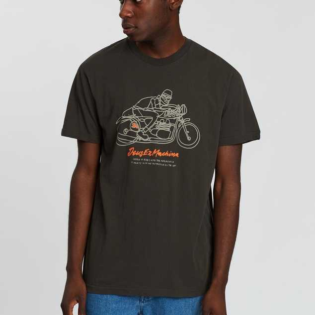 CAMISETA DEUS EX MACHINA MOTOR MEET - BELUGA