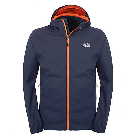 CHAQUETA IMPERMEABLE THE NORTH FACE QUEST SPACE BLUE.