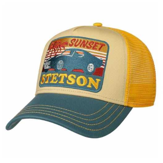 GORRA STETSON TRUCKER SUNSET AMARILLO