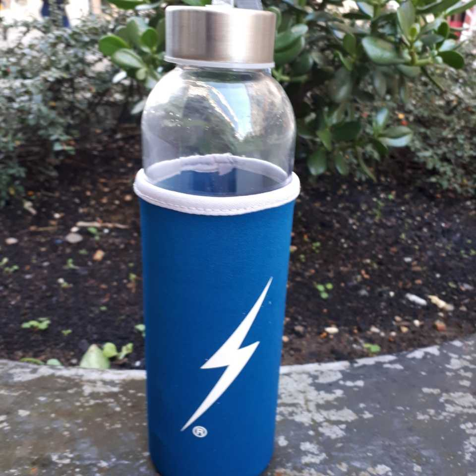BOTELLA LIGHTNING BOLT AZUL